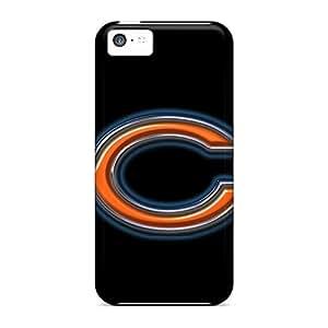 WayneSnook Apple Iphone 5c Bumper Hard Phone Cases Support Personal Customs Vivid Chicago Bears Series [cYH1883lSxa]