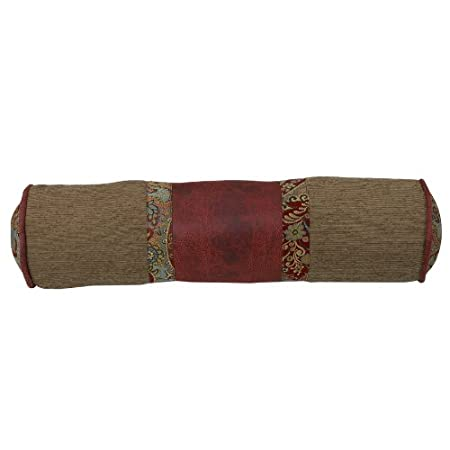 HiEnd Accents San Angelo Western Neckroll Pillow WS4287P7