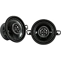 Kicker 43CSC354 CSC35 3.5-Inch Coaxial Speakers - 4-Ohm