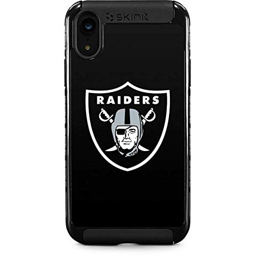 (Skinit Oakland Raiders Large Logo iPhone XR Cargo Case - Officially Licensed NFL Phone Case - Durable Double Layer iPhone XR Cover with Enhanced Grip )