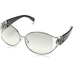 Giorgio Armani - Occhiali da sole GA 494/K/S Wayfarer, Black & Crystal Frame / Clear Lens