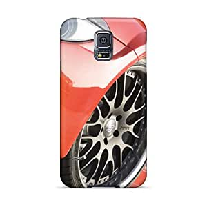 Hot Design Premium ZHk16516cDrN Tpu Cases Covers Galaxy S5 Protection Cases(hamann Bmw M6 Widebody Front Wheel) Black Friday