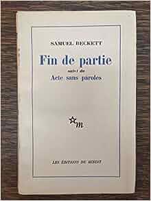pdf fin de partie beckett