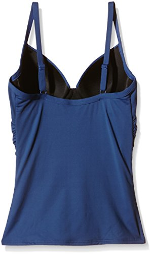 Bikini W Tankini Contours Donna U Blu Tie Front Moontide Jeans ZwfFvWA4qx