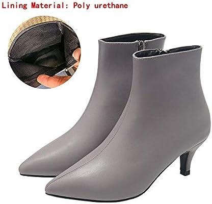 boots spring wedgie 41 Gray(heels 5cm