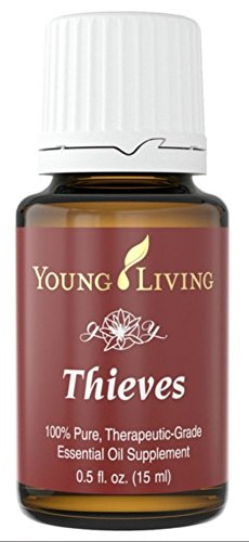 Thieves 15ml Essential Oil by Young Living Essential Oils