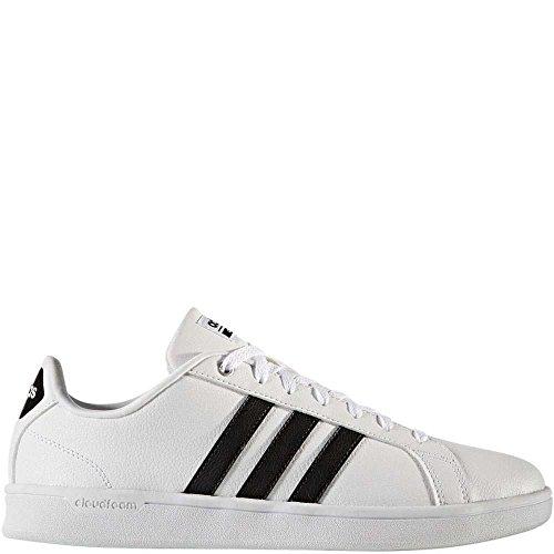 Sneakers Adidas Lightweight (adidas Men's CFAdvantage Sneakers, Black/White, (12 M US))
