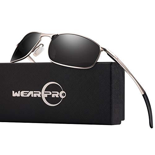 621e7cc9c41 Polarised Sunglasses Man wearPro Mens Cycling Sun glass Fishing Sunglasses  For Men WP1015