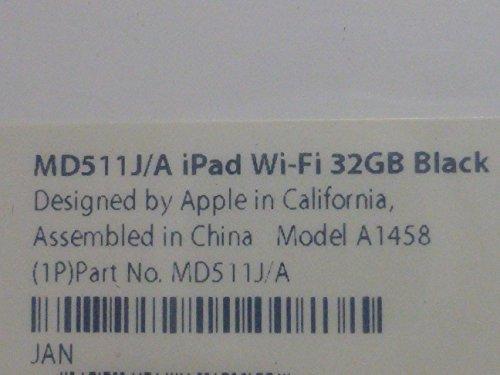 アップル 第4世代 iPad Retinaディスプレイモデル Wi-Fiモデル 32GB MD511J/A ブラック MD511JA