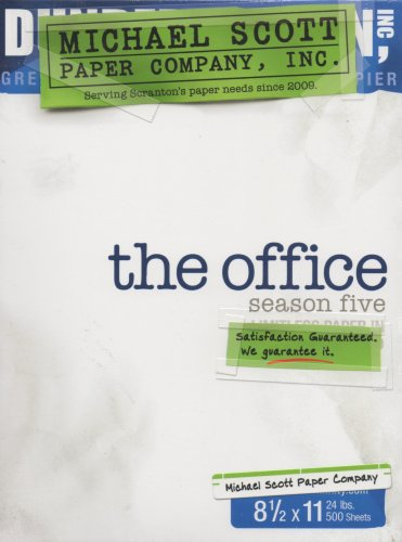 The Office - Season Five (Limited Edition with Bonus Disc, Magnets and Script)