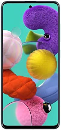 Samsung Galaxy A51 Factory Unlocked Cell Phone | 128GB of Storage | Long Lasting Battery | Single SIM | GSM or CDMA Compatible | US Version | Blue