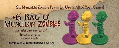 +6 Bag O Munchkin Zombies SJG5568 Steve Jackson Games