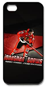 LZHCASE Personalized Protective Case For HTC One M8 Cover NHL Chicago Blackhawks #19 JONATHAN TOEWS