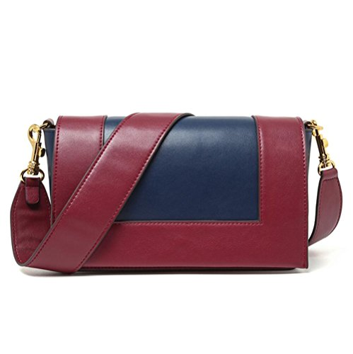 Genuine Bag Bag Leather Bags Inclined Handbags Shoulder Hit TINGTING Ladies Fashion Color Shoulder 1 Mini wRqXaag4