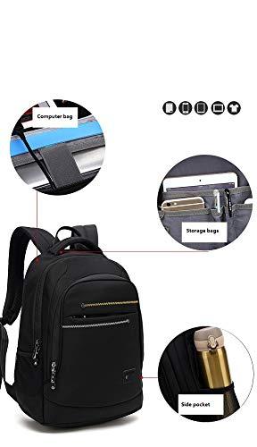 Contatto Donna di Abbigliamento Outdoor cm di Wjp Backpack Borsa E Usb Blu Per chiaro Carica Donna University Uomo Travel Grigio Laptop wXwxq8z7