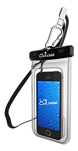 CaliCase Universal Waterproof Case - Clear
