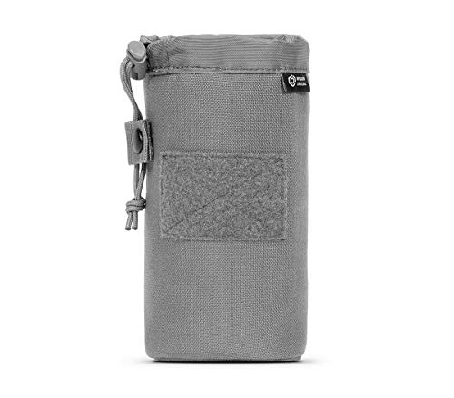 Mission Critical Insulated Bottle Pouch - Gray