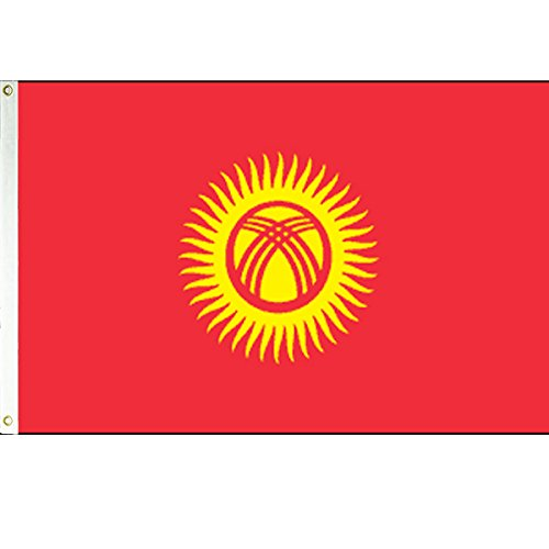 Vista Flags 3x5 Kyrgyzstan Flag Kyrgyz Republic Banner Turki