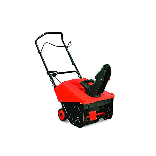 YARDMAX YB4628 Single Stage Snow Thrower, 87cc, 18″