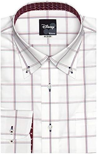 ブリックハウス Disney ディズニー ワイシャツ 長袖 形態安定 ボタンダウン Just Style メンズ BM010100AB16B3D-84