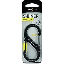 Nite Ize LSB4-01-R3 S-Biner Slide Lock, Black