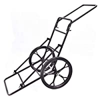 Custpromo Folding Deer Game Cart Heavy Duty Deer Hauler Utility Hunting Accessories Gear Dolly Cart 500 lb Capacity
