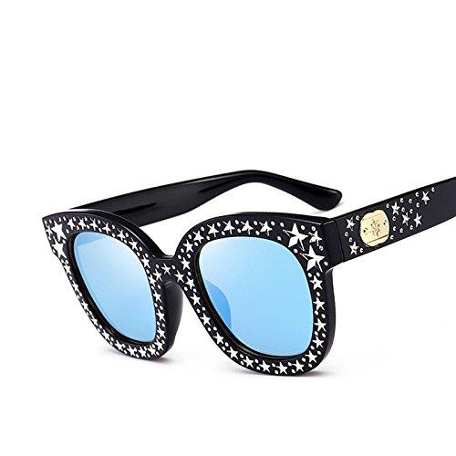 Mujer Sol Lujo Ojo Women De Gafas Polarizadas Gafas C4 Bastidor Star C4 Sol De Polarizadas Gafas De Gato Moda De De TIANLIANG04 HnqF47q