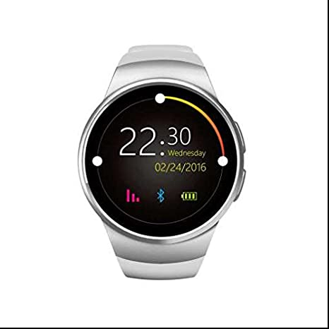 Smartwatch Bluetooth con GPS, diseño elegante, Sport pédomètre ...