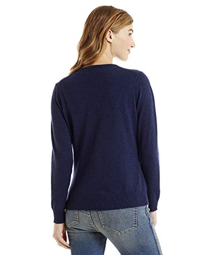 Bottoni World Astral Con Donna Cardigan Cashmere Blu In Invisible Lana g10Tqxwx4