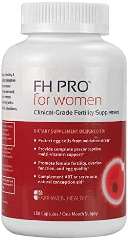 FH Pro for Women: Clinical Grade Fertility Supplement