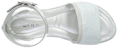 Rohde Prag - Sandalias de Tobillo Mujer Gris - Grau (81 quarz)