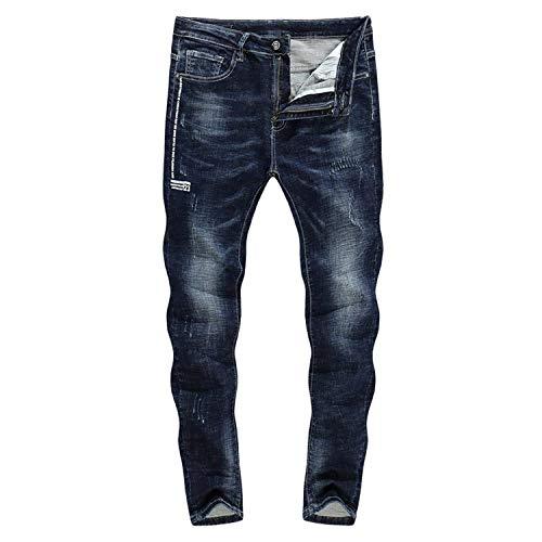 3126 Dritta A Pantaloni 31 Biker Stretch Strappati Jeans Neri Zlh Thick Uomo color Da Size 2018 Adelina Gamba Abbigliamento qp7Sgxwan