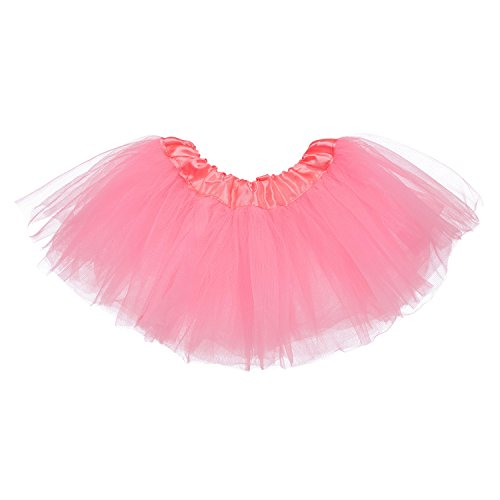 - My Lello Baby 5-Layer Ballerina Tulle Tutu Bubblegum Pink (0-3 mo.)