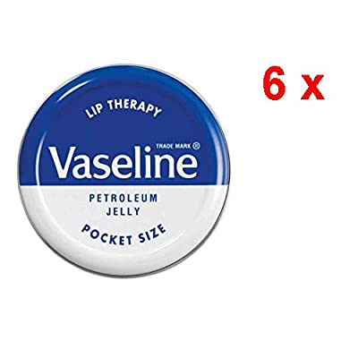 6x Vaseline Labios Bálsamo–Terapia Original–20gr