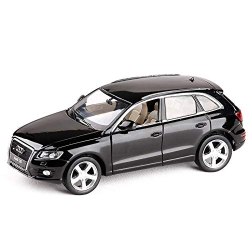 modelcars 1:32 Scale Collection Sound&Light Pullback Audi Q5 SUV Metal Diecast Model Car Toy Black