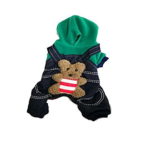 LPET Pet Clothes Dog Winter Warm Hooded Coat Sweater Puppy Costume for Teddy Pomeranian Poodle Chihuahua Corgi Dogs (XL, - Crystal Quilted Jacket