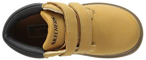 Skechers MeccaSawmill - zapato botín de material sintético niños WTN