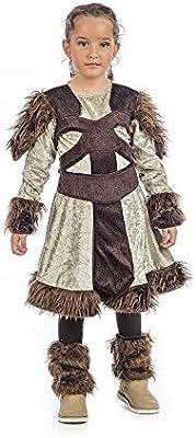 Limit Sport- Nerta La Vikinga, disfraz infantil, 5 (MI059: Amazon ...