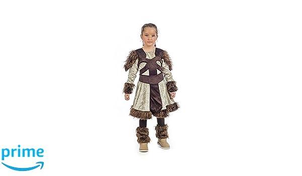 Limit Sport- Nerta La Vikinga, disfraz infantil, 6 (MI059: Amazon ...