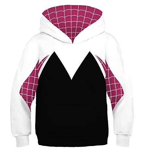 Riekinc Kids Superhero Costume Long Sleeve Hoodie Sweatshirts ()