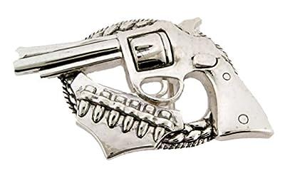 Letter Love Fashion Gunets Belt Buckle Men Silver Cowboy Cowgirl Texas Western Hip Hop