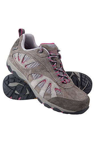 Mountain Warehouse Zapatillas Botas impermeables Summit IsoGrip para mujer Gris