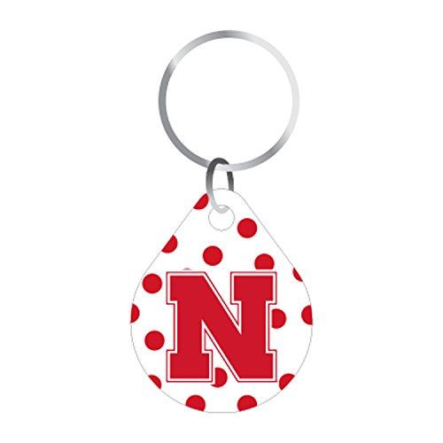 - Craftique Nebraska Keychain Polka DOT N Huskers Keychain