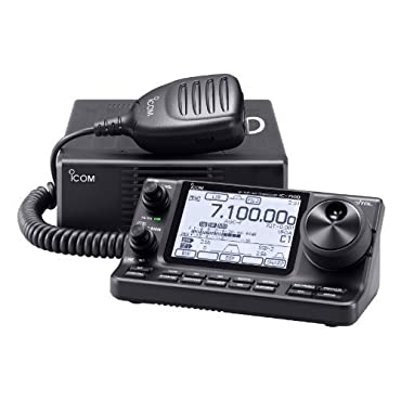 Icom IC-7100 HF/50/144/440 MHz Amateur Radio Mobile Transceiver D-Star Capable w/ Touch Screen Original Icom USA Model