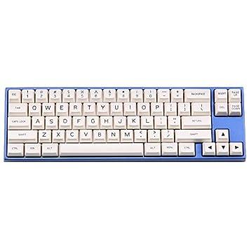SSSLG Teclado mecánico, keycap Blanco, 129-Key SA Altura, Material ABS, Adecuado para la mayoría de los teclados mecánicos: Amazon.es: Electrónica