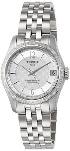 Tissot T-Classic Ballade Automatic Mother of Pearl Dial Ladies Watch T108.208.11.117.00
