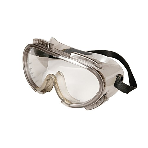 (Encon Encompass Maximum Chemical Splash Protection Safety Goggles, Grey/Clear ENFOG)