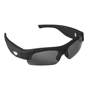 Ecloud Shop® Sonnenbrille mit Kamera HD 720P Videorecorder Spion Kamera Gläser SD Karte Sport Polarisierte Sonnenbrille f7ijY