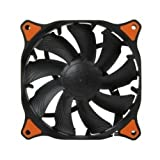 Black COUGAR CF-V12HB Vortex Hydro-Dynamic-Bearing 120MM Silent Cooling Fan, 300000 Hours, with 3 to 4 pin Adapter