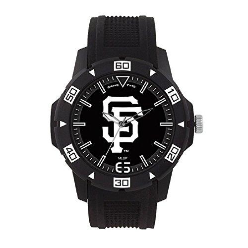 (MLB San Francisco Giants Mens MLB-Automatic Series WatchWatch, Black, 49.50mm)